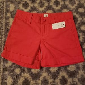 New pink gap kids size 6 shorts